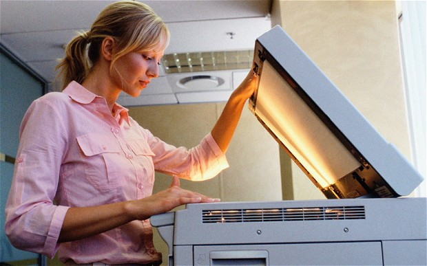 Photocopy Newspaper For a Photocopier
